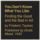 You Don't Know What You Like